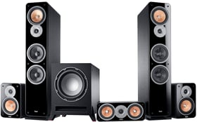 Ultima 40 Surround 5.1 Set - Schwarz