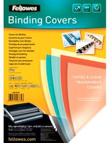 Deckblatt 200mic A4 Binderücken Fellowes 785300150965 Bild Nr. 1