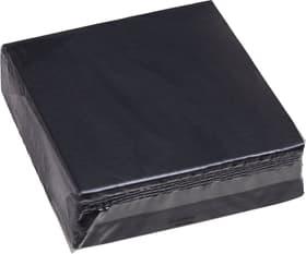 PAPER Papierservietten 440286703320 Farbe Schwarz Grösse B: 33.0 cm x T: 33.0 cm x H: 0.1 cm Bild Nr. 1