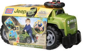 First Builders Jeep Ride-On (Jungs) Mega Bloks 74636619010014 Bild Nr. 1