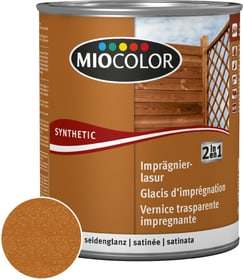Velatura impregnante 2 in 1 Teak 2.5 l Miocolor 661182300000 Colore Teak Contenuto 2.5 l N. figura 1