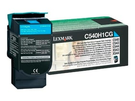 C540H1CG, cyan Cartouche de toner Lexmark 785300124467 Photo no. 1