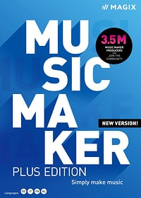 Music Maker Plus Edition 2021 [PC] (D/F/I) Physisch (Box) Magix 785300155402 N. figura 1