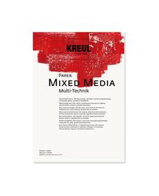 KREUL Paper Mixed Media 10 Blatt 300 g/m² DIN A4 C.Kreul 667181000000 Bild Nr. 1