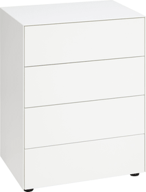 LUX Commode 400819100010 Dimensions L: 60.0 cm x P: 46.0 cm x H: 72.5 cm Couleur Blanc Photo no. 1
