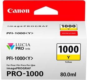 PFI-1000  jaune Cartouche d'encre Canon 785300126466 Photo no. 1