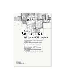 KREUL Paper Sketching 20 Blatt 120 g/m²  DIN A4 C.Kreul 667180700000 Bild Nr. 1