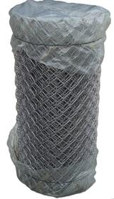 Rete a intreccio diagonale zincato 636648800000 Colore Zinco grigio Taglio L: 10.0 m x A: 100.0 cm N. figura 1