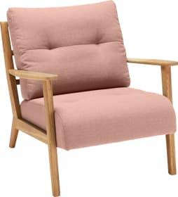 FAUST Sessel 402465200137 Grösse B: 76.0 cm x T: 80.0 cm x H: 78.0 cm Farbe Lachs Bild Nr. 1