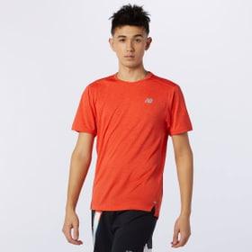 Impact Run Short Sleeve Herren-T-Shirt New Balance 470455900534 Grösse L Farbe orange Bild-Nr. 1