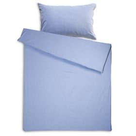 CHEVRON Housse de couette jacquard 376031126005 Dimensions L: 210.0 cm x L: 200.0 cm Couleur Bleu clair Photo no. 1