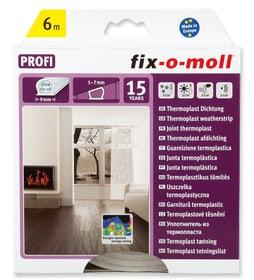 Thermoplast Dichtung 9x7mm x 6m Fix-O-Moll 673006600000 Bild Nr. 1