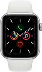 Watch Series 5 GPS 44mm silver Aluminium White Sport Band Smartwatch Apple 785300146914 Photo no. 1