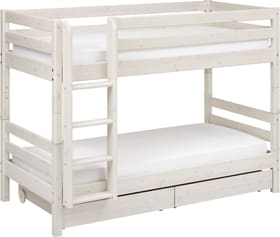 CLASSIC Lits superposés Flexa 404960800000 Dimensions L: 110.0 cm x P: 210.0 cm x H: 154.0 cm Couleur White Wash Photo no. 1