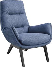 ANDRES Poltrona 402473407040 Dimensioni L: 83.0 cm x P: 94.0 cm x A: 97.0 cm Colore Blu N. figura 1