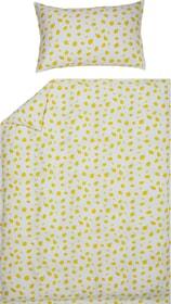 LIMONES Federa per piumino raso 451308412550 Colore Giallo Dimensioni L: 200.0 cm x A: 210.0 cm N. figura 1