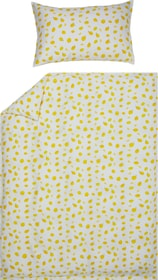 LIMONES Federa per cuscino raso 451308410950 Colore Giallo Dimensioni L: 100.0 cm x A: 65.0 cm N. figura 1