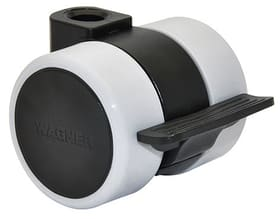 Ruota per mobili D37 mm con fermo, 2pz. Wagner System 606415300000 N. figura 1