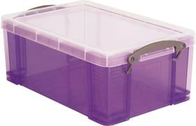 Boîtes de plastique 9L Boîte de rangement Really Useful Box 603732400000 Couleur Violet Taille L: 15.5 cm x L: 25.5 cm x H: 39.5 cm Photo no. 1