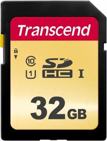 SD Card 500S 32GB SDHC SD Karten Transcend 785300147292 Bild Nr. 1