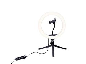 Lumière vidéo Kit Vlogging VL-26 RGB Lampe anneau LED Dörr 785300161004 Photo no. 1