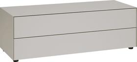 LUX Commode 400819200088 Dimensions L: 120.0 cm x P: 46.0 cm x H: 37.5 cm Couleur Gris taupe Photo no. 1