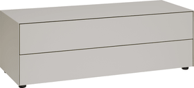LUX Kommode 400819200088 Grösse B: 120.0 cm x T: 46.0 cm x H: 37.5 cm Farbe Taupe Bild Nr. 1