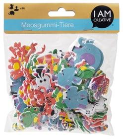 Moosgummi Dschungel Tiere I AM CREATIVE 666127700000 Bild Nr. 1