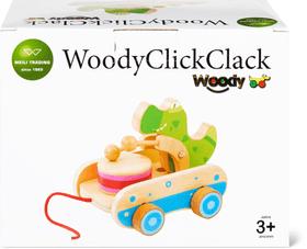 Woody Crocodile Pull Along Set di giocattoli 747336800000 N. figura 1