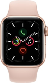 Watch Series 5 LTE 40mm gold Aluminium Pink Sand Sport Band Smartwatch Apple 785300146939 Photo no. 1