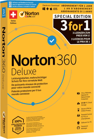 Security 360 Deluxe 25GB 3For1 Device 12mt Physisch (Box) Norton 785300149619 N. figura 1