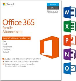 PC/Mac - Office 365 Famille