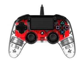 Gaming PS4 manette Light Edition rouge