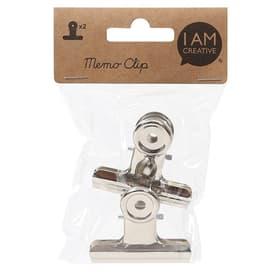 Memo-Clip, Silver