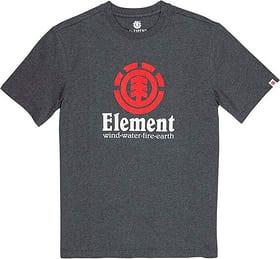 Vertical SS Herren-T-Shirt Element 464218300386 Grösse S Farbe anthrazit Bild-Nr. 1