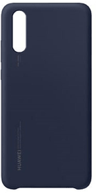 Silicone Case blau Hülle Huawei 785300135612 Bild Nr. 1