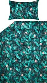 BERUNA Housse de couette satin 451195612360 Couleur Vert Dimensions L: 160.0 cm x H: 210.0 cm Photo no. 1