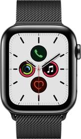 Watch Series 5 LTE 44mm space black Stainless Steel space black Milanese Loop Smartwatch Apple 785300146925 Photo no. 1