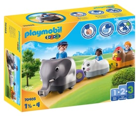 PLAYMOBIL 70405 Train des animaux 748035500000 Photo no. 1