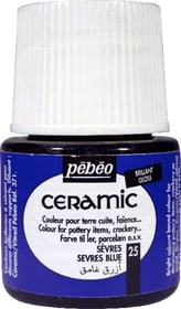 PÉBÉO Ceramic Keramikmalfarbe 25 Sevres Blue 45ml Pebeo 663510000900 Farbe Sèvres Bild Nr. 1