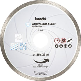 Mole da taglio White-Line DIAMANT, ø 125 mm kwb 610520700000 N. figura 1