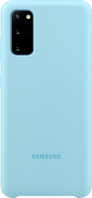 Silicone Hard-Cover Bleu Coque Samsung 785300151164 Photo no. 1