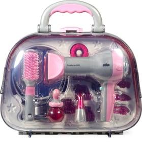 Valigia parrucchiere con fon e accessori Theo Klein 744659700000 N. figura 1