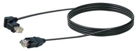 Netzwerkkabel STP Cat6 2m schwarz Schwaiger 613185100000 Bild Nr. 1