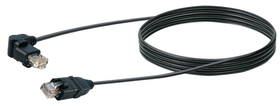 Netzwerkkabel STP Cat6 5m schwarz Schwaiger 613184500000 Bild Nr. 1