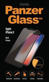 Premium Privacy iPhone X - nero