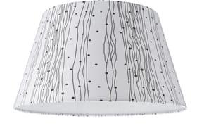TREND 40 Lampenschirm 40cm 420183104092 Grösse H: 22.0 cm x D: 40.0 cm Farbe Weiss Bild Nr. 1
