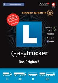 PC/MAC - easytrucker 2017/18 Theorieprüf. f. Lastwagen [Kat. C/CE+D/DE] (D/F/I)