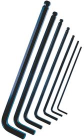 Set di chiavi a brugola con testa sferica Classic 7 pz. Chiavi a brugola Lux 601014600000 N. figura 1