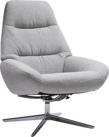ARNOLD Sessel 402479407081 Grösse B: 78.0 cm x T: 89.0 cm x H: 97.0 cm Farbe Hellgrau Bild Nr. 1